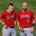 Albert Pujols offers decent upside as a power hitter on the week 11 fantasy baseball waiver wire. Flickr/Keith Allison