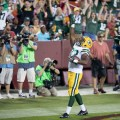 Aaron Jones should get the starting nod in the week 10 fantasy football start 'em, sit 'em guide. Flickr/Keith Allison