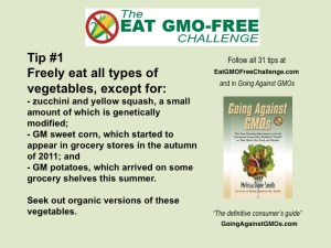 Eat GMO-Free Challenge Tip 1