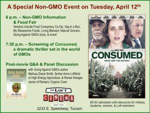 NonGMO Food and Film event meme