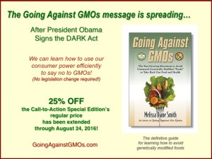 Going Against GMOs message