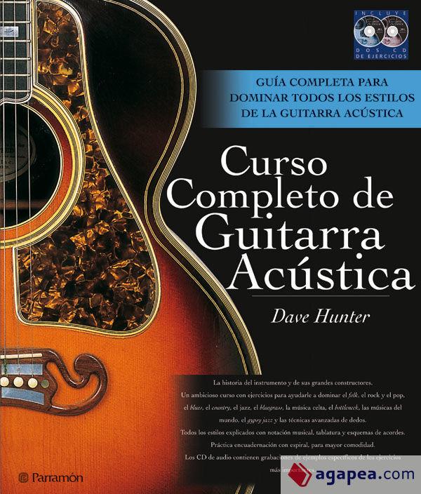 CURSO COMPLETO DE GUITARRA ACUSTICA  Agapea Libros Urgentes