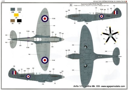I really like this two-tone PR scheme for the RAF bird