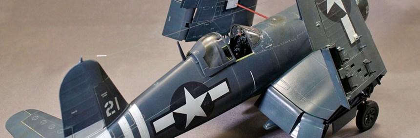 Build Report: Kevin Johnson's 1/48 Tamiya F4U-1D
