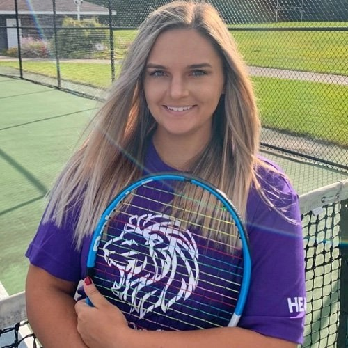 Coach Julie Fusik at Agape Tennis Academy