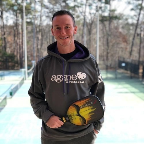 Pickleball Coach Shea Underwood at Agape Tennis Academy