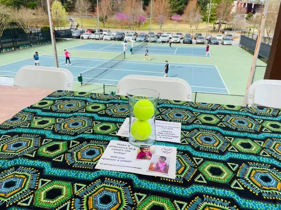 Serving Home Tennis Tournament at Agape Tennis Academy