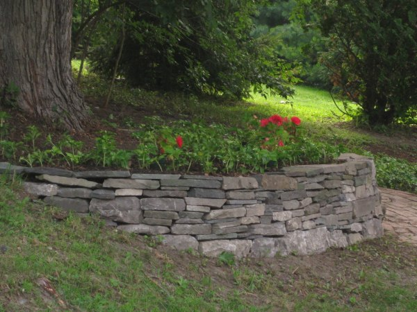 retaining wall cost homeimprovement