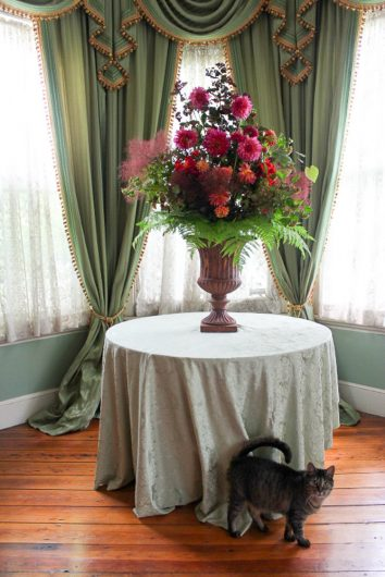 Victorian Flower Arrangements and a Magazine PhotoShoot