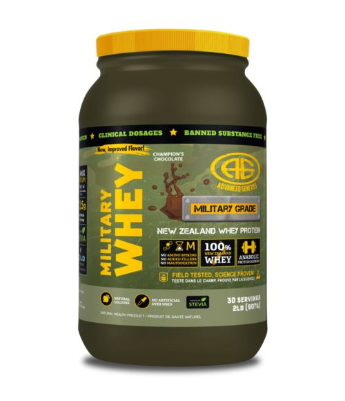 Military Whey chocolate