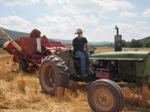 Me harvesting