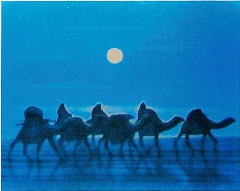 平和のキャラバン・月(西)