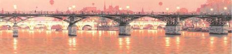 芸術橋の上で→シルク