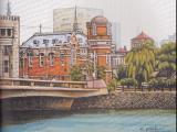 旧大同生命館と県庁