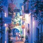 笹倉鉄平「ブーゲンビリアの小路」