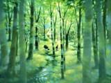 森のむこう(シルクスクリーン)