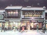 雪の町家通り(シルクスクリーン)→売却済み