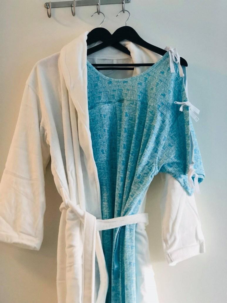 tøj til patienter agata