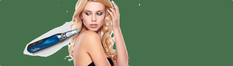 SkinPen behandling på huden