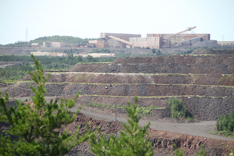 U.S. Steel's Minntac mine near Virginia, MN has a permit that expired in 1992. Photo: Creative Commons.