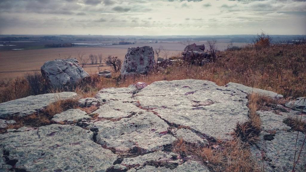 Cliffside, Blue Mounds. Photo © Dawn M. Armfield
