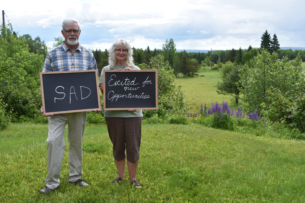 Dan and Brenda Baughman. Photo by Kelsey Jones-Casey.