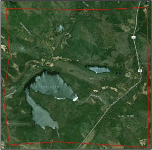 Figure 1. Satellite Image of Atlas Block T62X1a