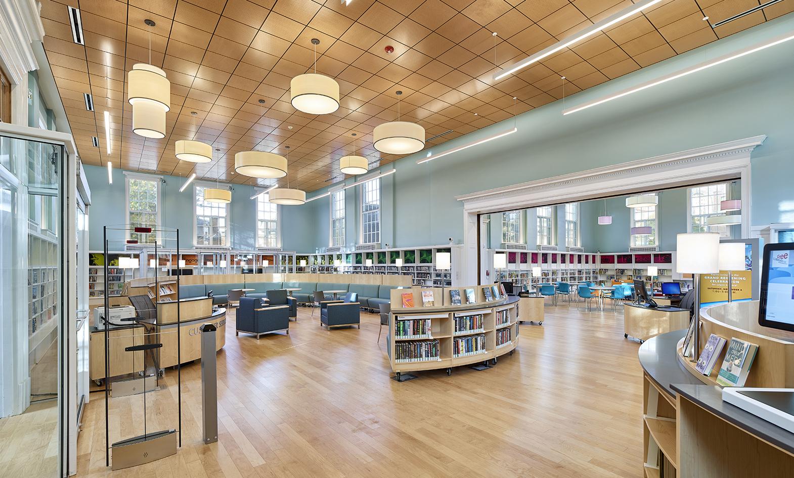 Free Library Of Philadelphia Logan Branch Agati Furniture