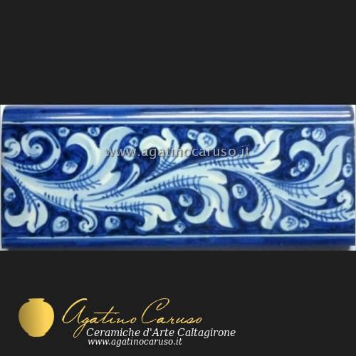 Fasce e battiscopa h002  Ceramiche di Caltagirone Agatino Caruso