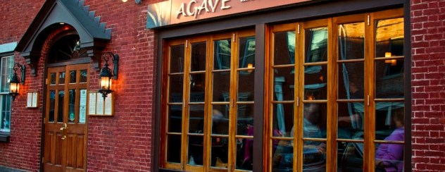 Photo of the storefront of Agave Mexican Bistro in Portsmouth