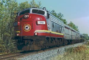 Algoma Central Railway Passenger TrainAlgoma Central Railway Passenger TrainTrain