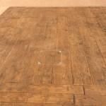 Béton imprimé bois cèdre 30cm tabac démoulant anthracite