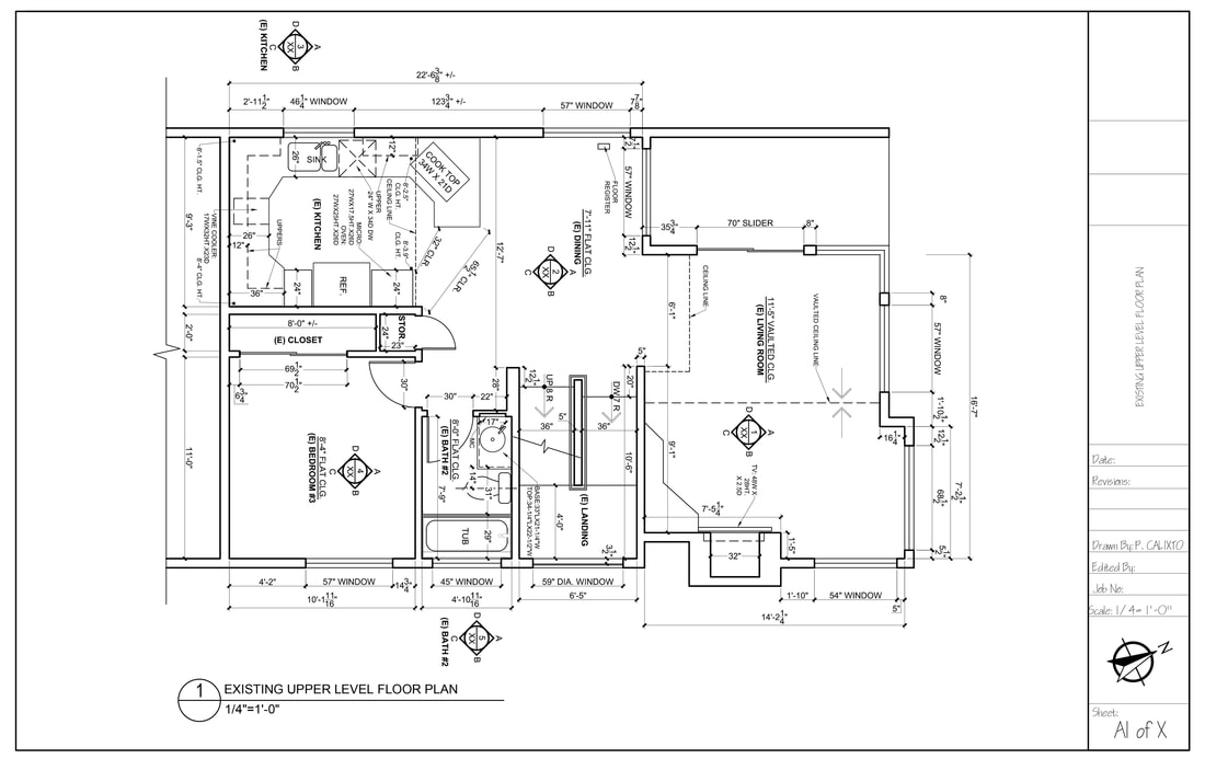 As-built drawings, CAD drafting & design services for