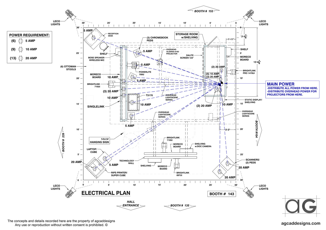 Millwork Casework Cabinets Shop Drawings, Exhibit CAD