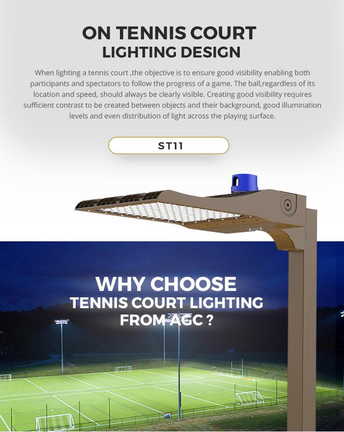 tennis court lighting tag agc lighting
