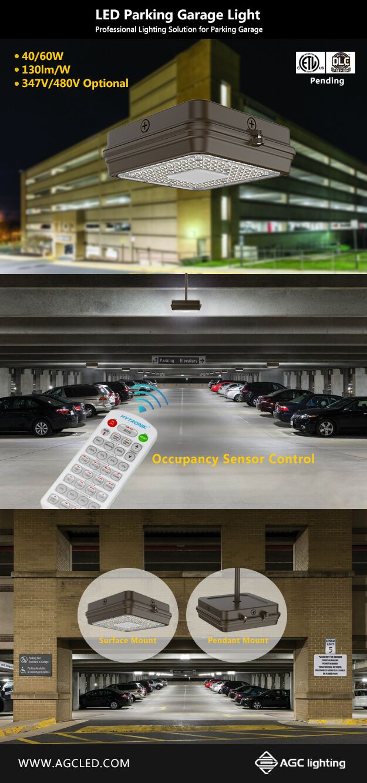 parking garage light tag agc lighting