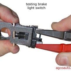 Brake Wiring Diagram Ez Go 36 Volt Agco Automotive Repair Service Baton Rouge La Detailed Auto To Test An Analog Light Switch For Staying On Remove The And Continuity Between Terminals A Ohmmeter Are