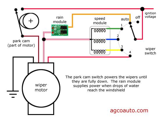 hyundai wiper motor wiring diagram