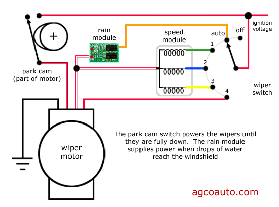 afi wiper motor wiring diagram wiring diagram afi wiper motor wiring diagram images