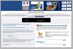 ransomware - Activite illicite demelee