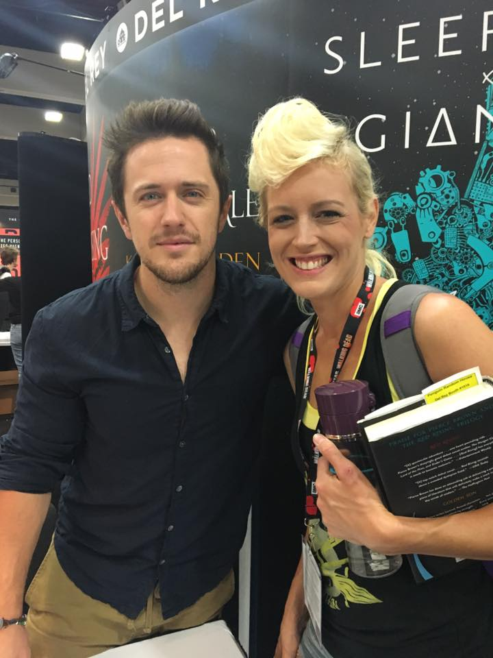 SDCC 2016 Pierce Brown Red Rising