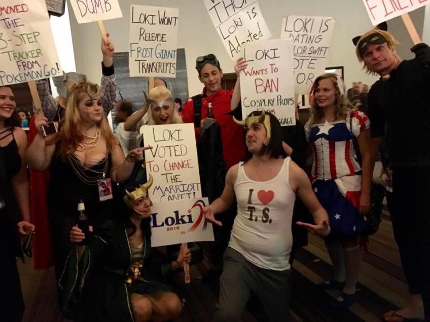 Dragon Con 2016 Thor Campaign