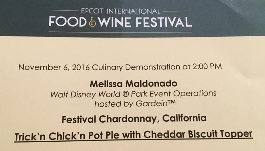 Walt Disney World EPCOT Food & Wine Festival 2016