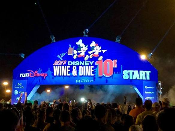 rundisney 2017 wine & dine 10k