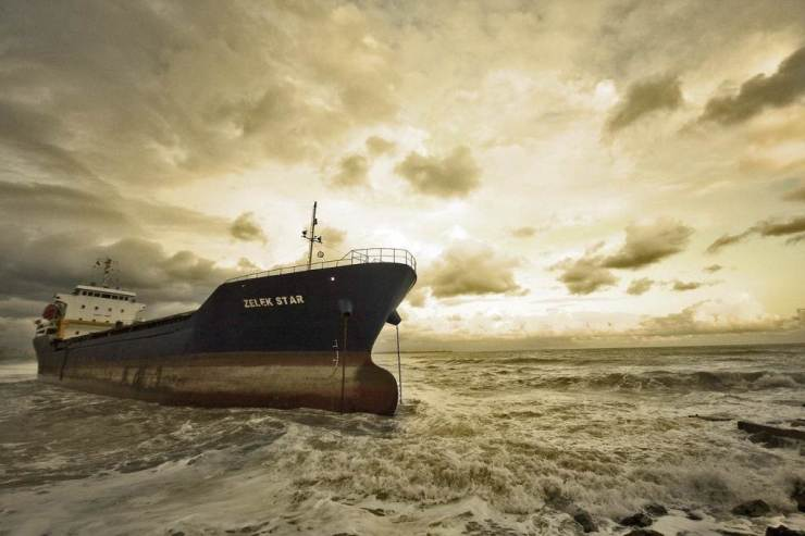 Cargo Ship in Storm (Pixabay.com)