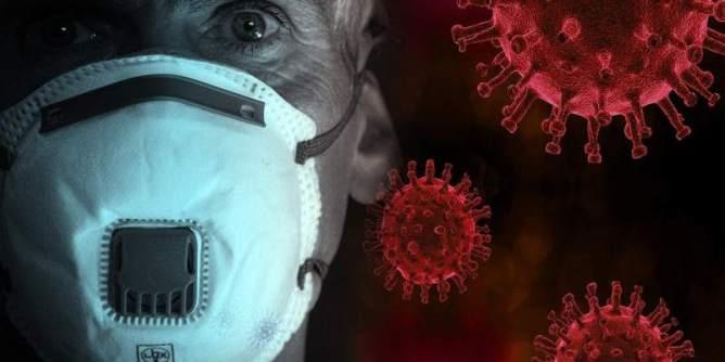 Coronavirus and Mask, Fantasy Picture