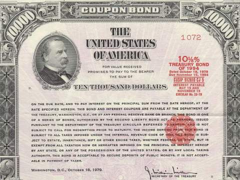 Treasury Bond, 1979 (Wikimedia Commons)