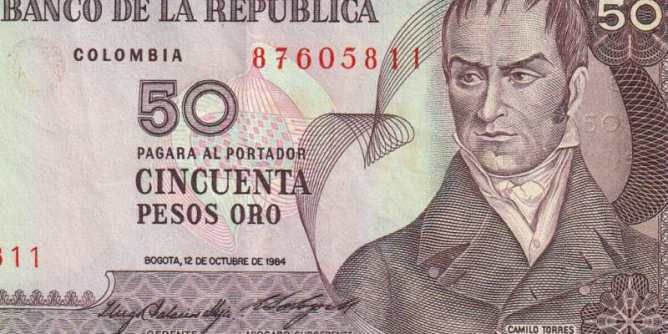 Colombian Banknote, 1984