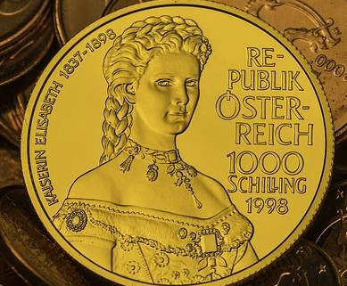 Gold Coin, Austria