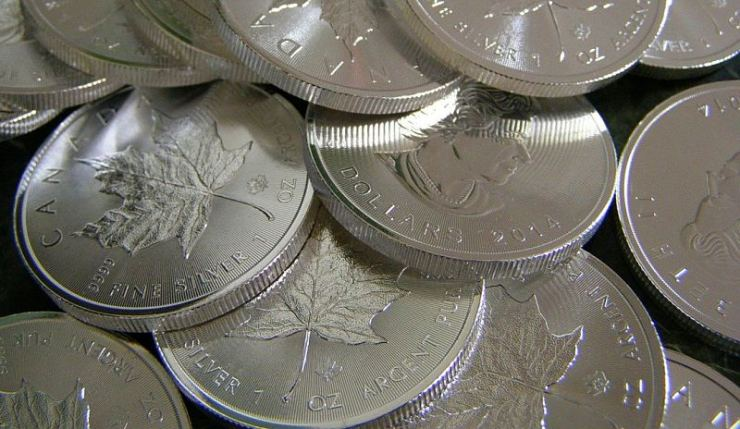 Canadian maple leaf coin - highest price of silver is to come?